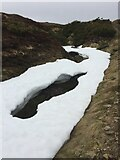 NH7821 : Melting Snow on Track to Carn Dubh Ic An Deoir by thejackrustles