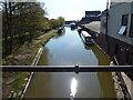 SO9567 : Worcester and Birmingham Canal at Stoke Wharf by Mat Fascione