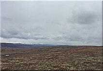 NH7819 : Views across peat hags towards the Cairngorms by thejackrustles