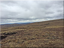 NH7617 : Views East from South of Carn nan Luibean Glas by thejackrustles