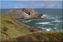 NJ4968 : Bow Fiddle Rock by Anne Burgess