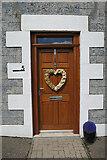 NJ4668 : Doorway by Anne Burgess