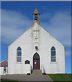 NJ4668 : Findochty Parish Kirk by Anne Burgess