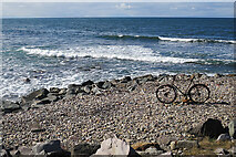 NJ4165 : Abandoned Bicycle by Anne Burgess