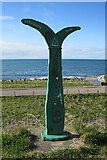 NJ4064 : Millennium Milepost by Anne Burgess