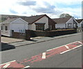 SN7911 : Brecon Road bungalows, Penrhos, Powys by Jaggery