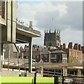 SK5739 : A new view of St Mary's Church by Alan Murray-Rust