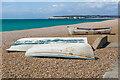 TV4898 : Seaford Beach by Ian Capper