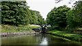 SO8685 : Stourton Locks on the Stourbridge Canal, Staffordshire by Roger  Kidd