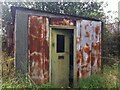 SP3190 : Shed at Lodge Farm, Astley by Alan Paxton