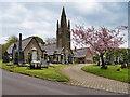 SD8919 : North Chapel at Whitworth Cemetery by David Dixon