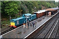 SO7975 : D8568 at Bewdley on the Severn Valley Railway by Chris Allen