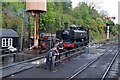 SO7975 : Severn Valley Railway - taking a breather by Chris Allen