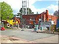 SO8754 : Worcestershire Royal Hospital - preparing to demolish by Chris Allen