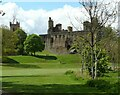 NT0077 : St Michael's Church and Linlithgow Palace by Richard Sutcliffe