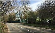 SP3073 : HS2 enabling works, Dalehouse Lane, Kenilworth (2) by Robin Stott