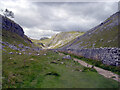 SD8964 : The Pennine Way in Watlowes Dry Valley by habiloid