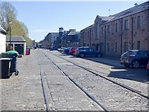 NT2676 : Site of West Old Dock, Leith by Richard Webb