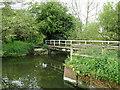 TM3155 : Footbridge over the River Deben by Adrian S Pye