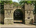SW9175 : Entrance gateway to Prideaux Place by Derek Harper