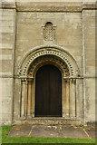 SK6280 : West Door by Richard Croft
