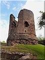 SO4520 : Skenfrith Castle - The Keep by Rob Farrow