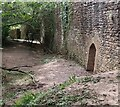 SO4520 : Skenfrith Castle - Water Gate - from outside the castle by Rob Farrow