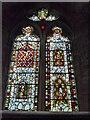 SO4439 : Window inside St. Michael & All Angels church (Chancel | Eaton Bishop) by Fabian Musto