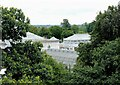 TQ1876 : The Temperate House from The Treetop Walkway, Kew Gardens by Martin Tester