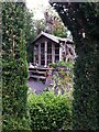 SP2764 : Summerhouse viewed through yew topiary, Hill Close Gardens, Warwick by Alan Paxton