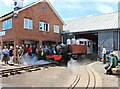 SO6621 : Locomotive 'Lyn' steams for the first time (2) by Martin Tester