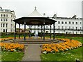 TA1180 : Bandstand, Crescent Gardens, Filey by Stephen Craven