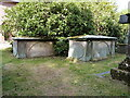 SJ7512 : The Glover tombs in Sheriffhales by Richard Law