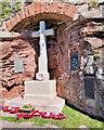 NU1835 : Bamburgh War Memorial by David Dixon