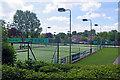 SK3516 : Ashby Castle Tennis Club by Stephen McKay