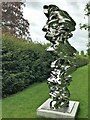 """TF7928 : Tony Cragg at Houghton Hall - A close view of """"It is, it isn't"""" (2014) by Richard Humphrey"""