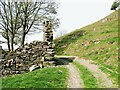 SD2787 : The Cumbria Way, Gutter Nook by Adrian Taylor