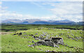 NM8644 : Ruined building close to Creag Sgeanach by Trevor Littlewood