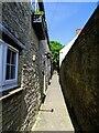 SP1501 : Alleyway, London Street, Fairford by Brian Robert Marshall
