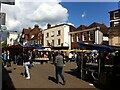 TL1407 : Market Place, St. Albans by Alan Paxton