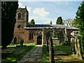SJ7773 : St Lawrence, Over Peover by Stephen Craven