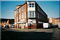 SK6005 : Factory building on the corner of Spence St and Bridge Rd, Leicester by Pierre Marshall
