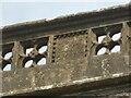 ST5655 : A restored parapet by Neil Owen