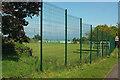 SX9373 : Fence by B3192 by Derek Harper