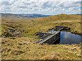 NN1521 : Dam on Allt an Stacain by Patrick Mackie