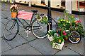 SJ8398 : Manchester Flower Show, Bread Flower Delivery Bike by David Dixon