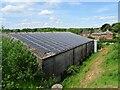 SK2942 : Solar farming at Inn Farm by Ian Calderwood