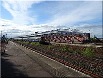 NS4238 : Kilmarnock Railway Station by JThomas