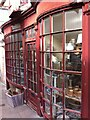 SO8505 : Historic shop front off Stroud High Street by Alan Paxton