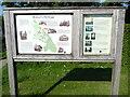 SP8710 : Information Board in Halton Village by David Hillas